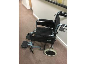 light weight manual wheel chair + power unit in Plymouth