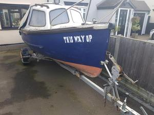 15 ft fishing boat with 25 hp outboard
