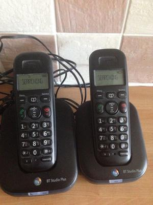 2 x bt cordless phones