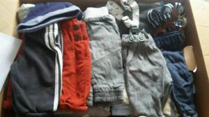 Box of Baby Boy Clothes 0 - 3 months
