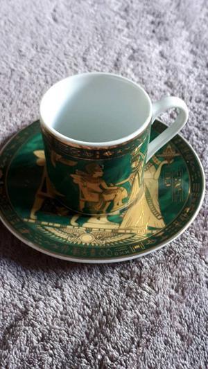 Fathi Mahmoud China cups and saucers