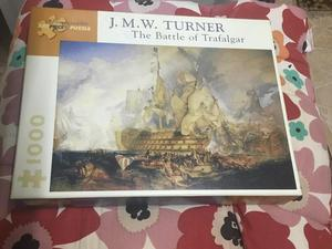 JMW Turner battle of trafalgar  pieces VGC