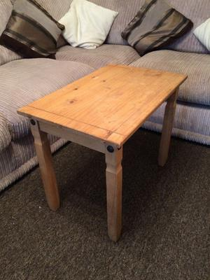 MEXICAN PINE SIDE/COFFEE TABLE