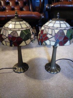 Pair of Tiffany lamps in perfect condition