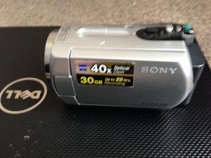 SONY DCR-SR42 DIGITAL VIDEO CAMERA