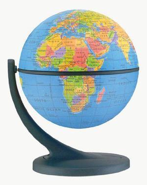 Wonder Globe - Gyroscopic Globe Rotates on 2 Axes 11cm (4