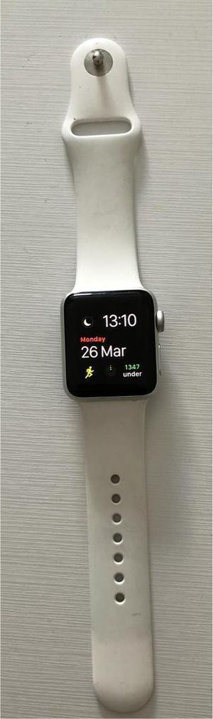 Apple watch series 3 GPS+CELLULAR 38 mm aluminium silver