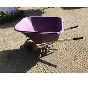 Extra large wheelbarrow in purple
