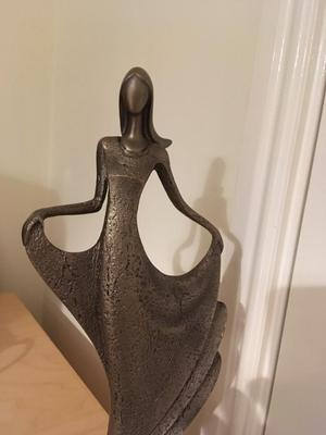 Frith Sculpture- just dance- cold cast bronze