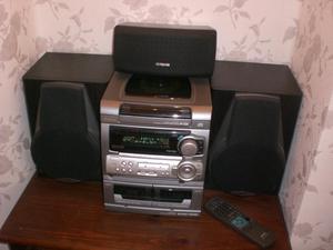 Hi Fi..Pro Logic triple CD and radio player