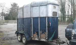 Ifor williams horse trailer spring project