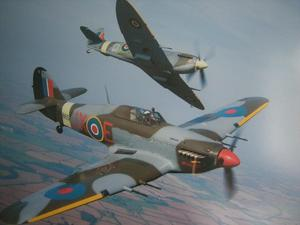 SPITFIRE/HURRICANE CENTENARY OF THE RAF APRIL 1st