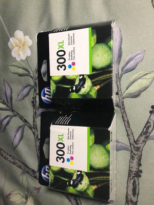 Genuine HP 300XL - colour ink - single pack
