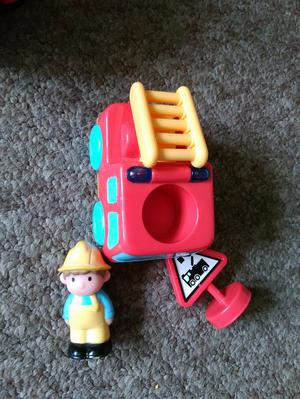 Happyland Fire Engine and Figure