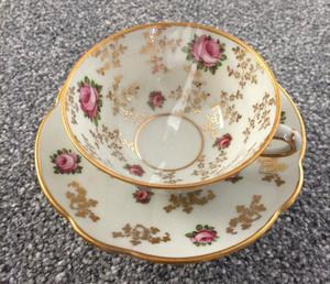 Limoges Bone China Cup and Saucer