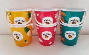 Malibu Mini Ice Bucket 0.5 litre - Set of 6