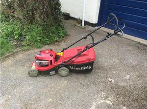 Mountfield petrol lawnmower in Exmouth