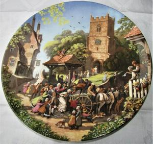SET OF 6 COALPORT COLLECTION PLATES THE TALE OF A COUNTRY