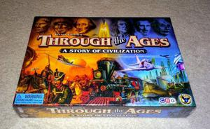Vlaada Chvátil - Through the Ages: A Story of Civilization - board game - NEW