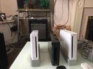 Wii Consoles and games x3