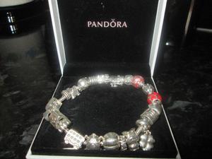 pandora bracelet PANDORA charms pandora spacers looks lovely on your wrist all good condition