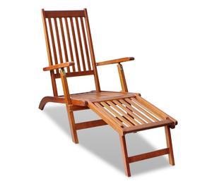 vidaXL Outdoor Deck Chair  New