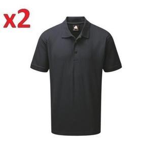 "2x ORN  Condor Eagle Premium Polo Shirt Navy Extra Large XL "" Chest"