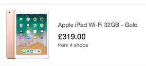 Apple iPad 32 GB WiFi rose gold