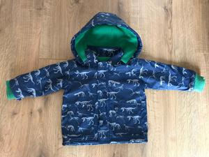 Baby boy dinosaur coat 6-12 months - Hatley style (RRP £30)