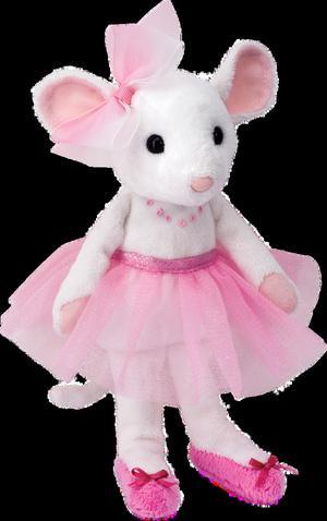 Ballerina Mouse Plush Toy Soft Ballet dance Cuddle Toys 23cm