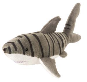 "CUDDLEKINS MINI TIGER SHARK 10"" PLUSH STUFFED ANIMAL BY WILD"