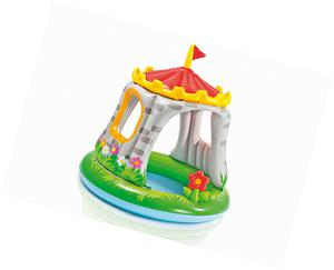 "Intex Baby Pool ""Royal Castle"" Paddling Pool with Built In"