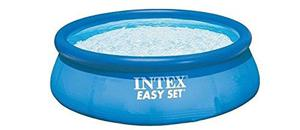 "Intex Easy Set Pool without Filter - Blue, 8' x 30"" 8 feet x"