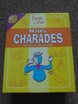 Kids Charades 8+ Family Fun Game