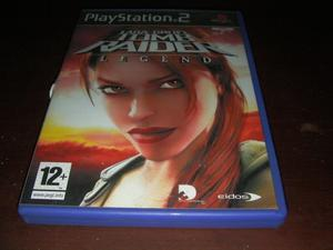 LARA CROFT TOMB RAIDER LEGEND PS2 VIDEO GAME (PLAYSTATION 2)