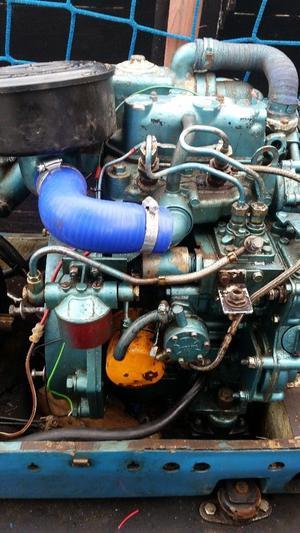 Mitsubishi L2E marine boat engine twin diesel