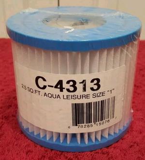 "NEW Unicel C Series 2.5 Sq. Ft. 4.25"" x 3 Fits Aqua"