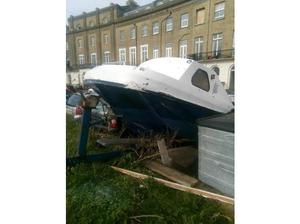 Wilson Flyer mk1 boat with engine in Emsworth