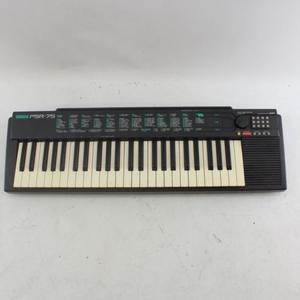 Yamaha PSR-75 Electronic Keyboard 49 Key Tested - Charger Missing