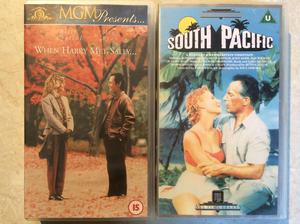 2x VHS VIDEOS (price is for all NOT EACH)