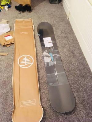 Burton custom twin 156cm brand new snowboard. All mountain.