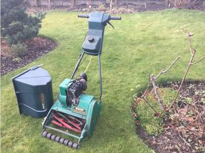 Qualcast petrol lawnmower in Batley