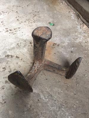Antique Vintage Cast Iron Cobblers Anvil Shoe Repair/Anvil Tool Stand/Doorstop