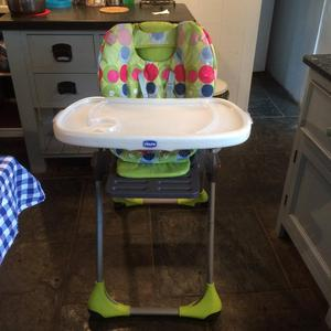 Chicco 5 in 1 progress high chair