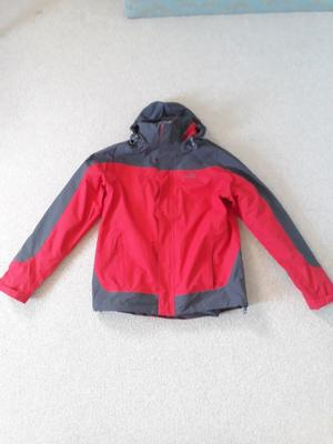 Peter Storm Mens Lakeside 3 in 1 Jacket Outdoor Clothing Red