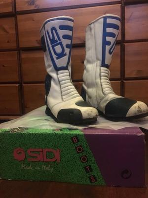 Sidi motorcycle boots UK size 9 Eur 43