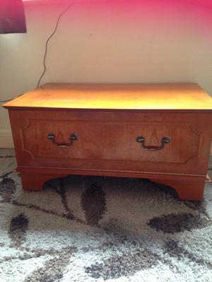 Teak wooden cabinet