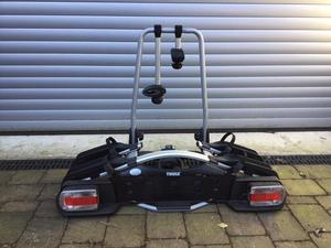 thule 2 bike euroway g2 towbar mounted cycle posot class. Black Bedroom Furniture Sets. Home Design Ideas