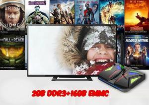 VBOX Smart TV BOX Amolgic S905X Quad Core 2GB RAM 16GB