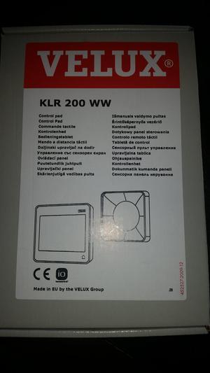 Velux Kfc 210 Eu Control System Posot Class